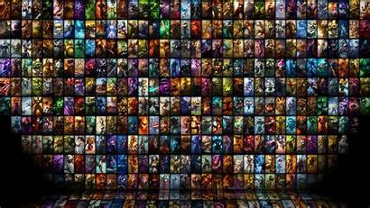 Legends 4k League Mobile Collage Games Heroes