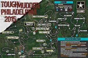 2017 Tough Mudder Course Map
