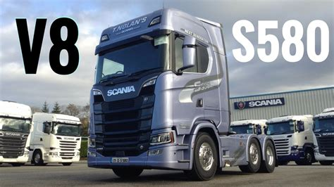 renault truck wallpaper 2017 new scania s580 v8 truck full tour test drive