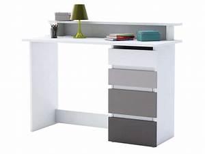 But Bureau Blanc : bureau blanc gris ~ Teatrodelosmanantiales.com Idées de Décoration