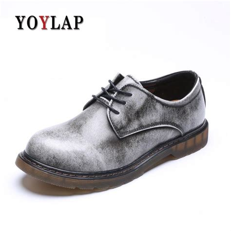 Buty Meskie Plus Size Genuine Leather Cow Split Men