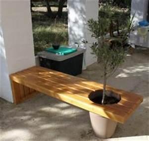 Gros Pot Pour Olivier : banc cache pot ~ Melissatoandfro.com Idées de Décoration