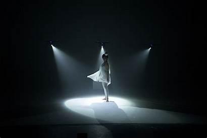 Shadow Spotlight Dance Performance Solo Three Drones