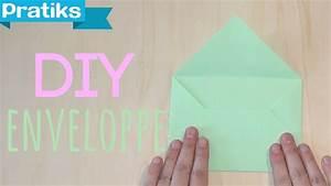 Comment Fabriquer Une Enveloppe : diy comment fabriquer une enveloppe en papier youtube ~ Melissatoandfro.com Idées de Décoration