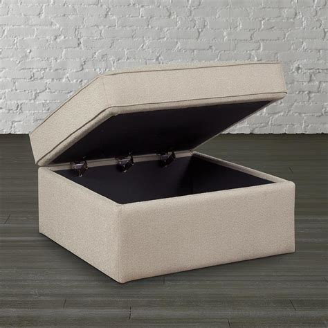 square ottoman with storage large square storage ottoman homesfeed