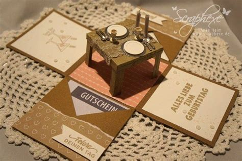 Explosion-box, Candle Light Dinner, Scraphexe.de