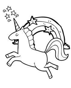 easy coloring pages  unicorns  print unicorn coloring pages  kids print  color