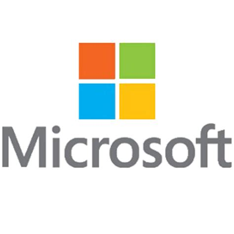 Original microsoft logo #2419 - Free Transparent PNG Logos