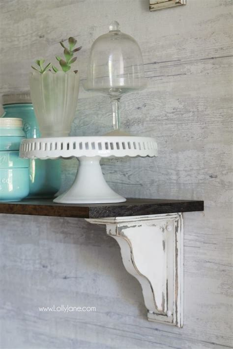 Diy Wood Corbels by 16 Easy And Creative Diy Corbels Home Decor Projects The
