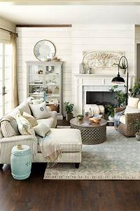 45 comfy farmhouse living room designs to steal digsdigs for Farmhouse living room design