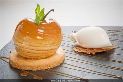 bruits de cuisine recette chef philippe tredgeu sablé pomme caramel
