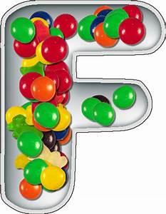 presentation alphabets candy dish letter f With alphabet letter candy dishes
