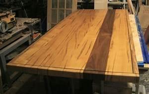 Ambrosia Maple & Walnut Table top – Rambling Road Designs