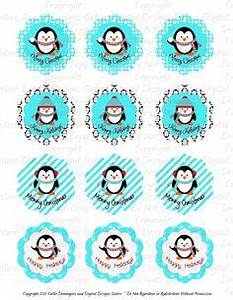 Printable Penguin Favor Basket Pingue