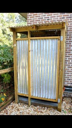plans to build an outdoor bathroom free outdoor shower wood plans diy in 2019