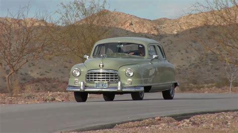 1950 Nash Airflyte Ambassador Super Test Drive Viva Las ...