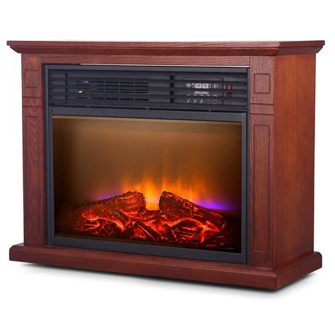 fireplace electric heaters large room electric quartz infrared fireplace heater