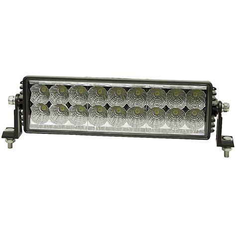 light bar brands 12 24 vdc 4050 lumen 18 led work light bar