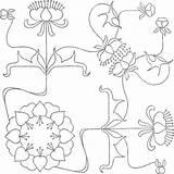 Coloring Cvijece Bojanke Embroidery Priroda Border Patterns Corner Floral Colorpagesformom Adult Bekcc Nouveau Enregistree Depuis sketch template
