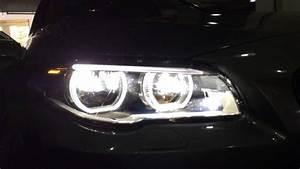 Bmw E60 Lights Alh Adaptive Led Headlight For F10 Lci Youtube