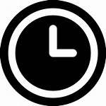 Icon Oclock Three Clock Onlinewebfonts Edit Icons