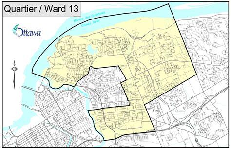 ward structure  ward maps city  ottawa