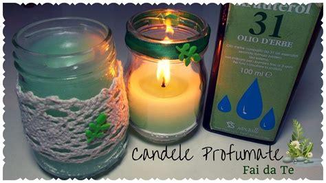 candele fai da te profumate candele profumate fai da te alle erbe aromatiche