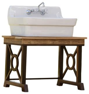 kitchen sink stand porcelain high back american standard farm sink classical 2909