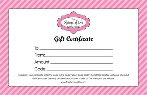fill  gift certificate template professional