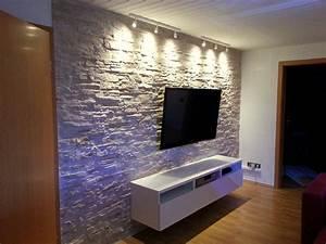 Steinwand Wohnzimmer Ideen : steinwand wohnzimmer ideen die besten steinwand wohnzimmer ideen auf pinterest design ideen ~ Sanjose-hotels-ca.com Haus und Dekorationen