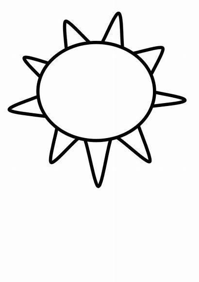 Clipart Sun Outline Clip Half Sunrise Clipartpanda