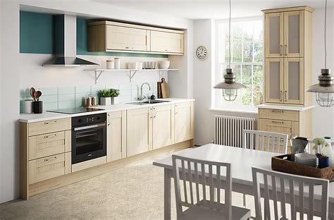b q tiles kitchen it westleigh textured oak effect shaker diy at b q 1416