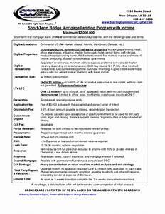 bridge loan term sheet 10 12 With bridge loan agreement template