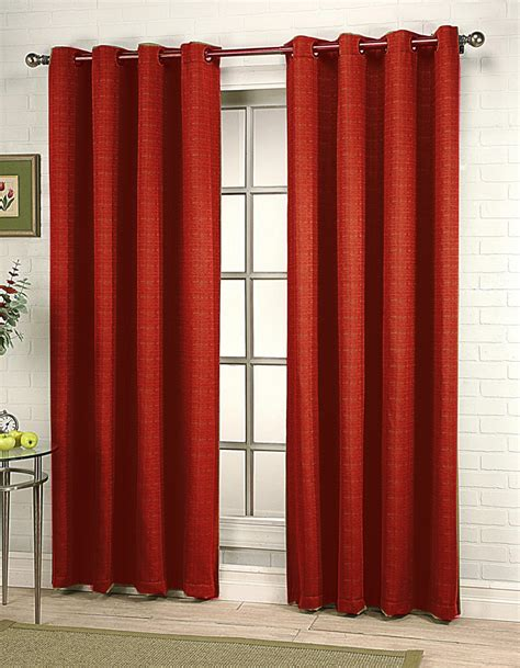 gramercy grommet curtain expresso rhf contemporary