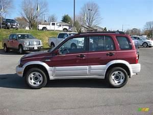 Mars Red Metallic 2000 Suzuki Grand Vitara Jlx 4x4