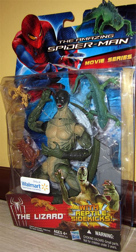 lizard amazing spider man  walmart exclusive