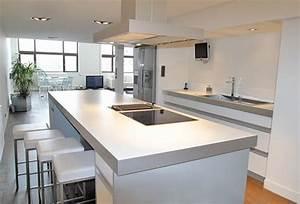 elegant bien idee ouverture cuisine sur salon cuisine With idee ouverture cuisine sur salon
