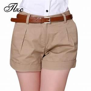 Aliexpress.com  Buy 2016 Korea Summer Woman Cotton Shorts Size S 2XL New Fashion Design Lady ...