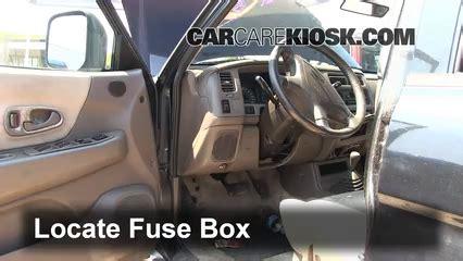 interior fuse box location   mitsubishi montero
