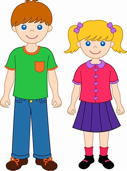 Clip Sister Brother Siblings Sweetclipart