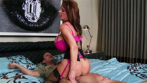 Mature Mom Deauxma With Huge Fake Boobs Is Riding Hard