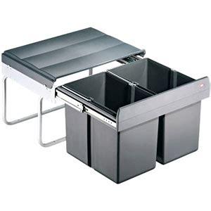 poubelle cuisine coulissante sous evier poubelles sous évier coulissantes bricotoo