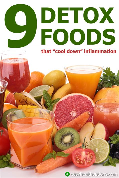 cuisine detox nine detox foods that cool inflammation