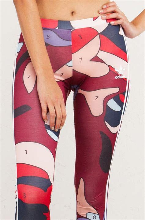 Adidas Rita Ora 3 Stripes Athletic Leggings in Multi/White ...