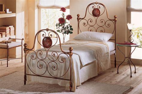 wrought iron single beds dane mobili