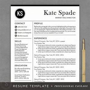 professional resume template cv template for word mac With professional resume online
