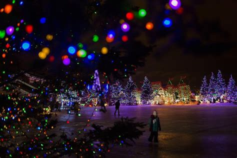 photos bentleyville lights up duluth minnesota public