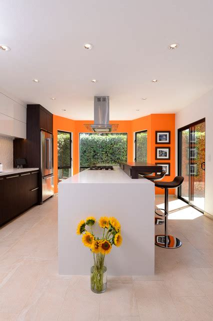 lighting for small kitchen persimmon contemporary kitchen orange county by 7043