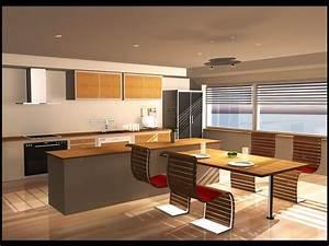 Küche Mit Integriertem Tisch : kochinsel mit tisch mit integriertem esstisch k chenplaner und leicht concrete ~ Bigdaddyawards.com Haus und Dekorationen