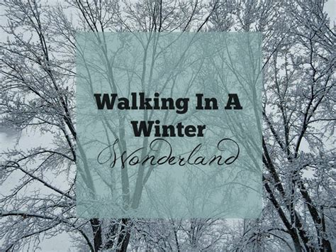 Life: Walking in a Winter Wonderland + Announcement
